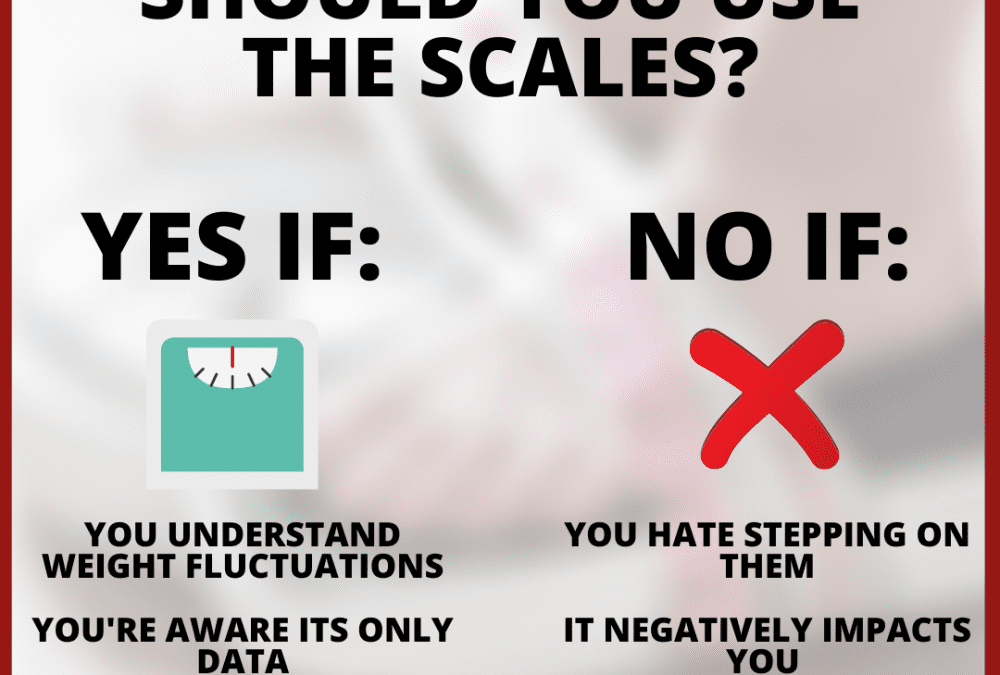 Should you use the scales?
