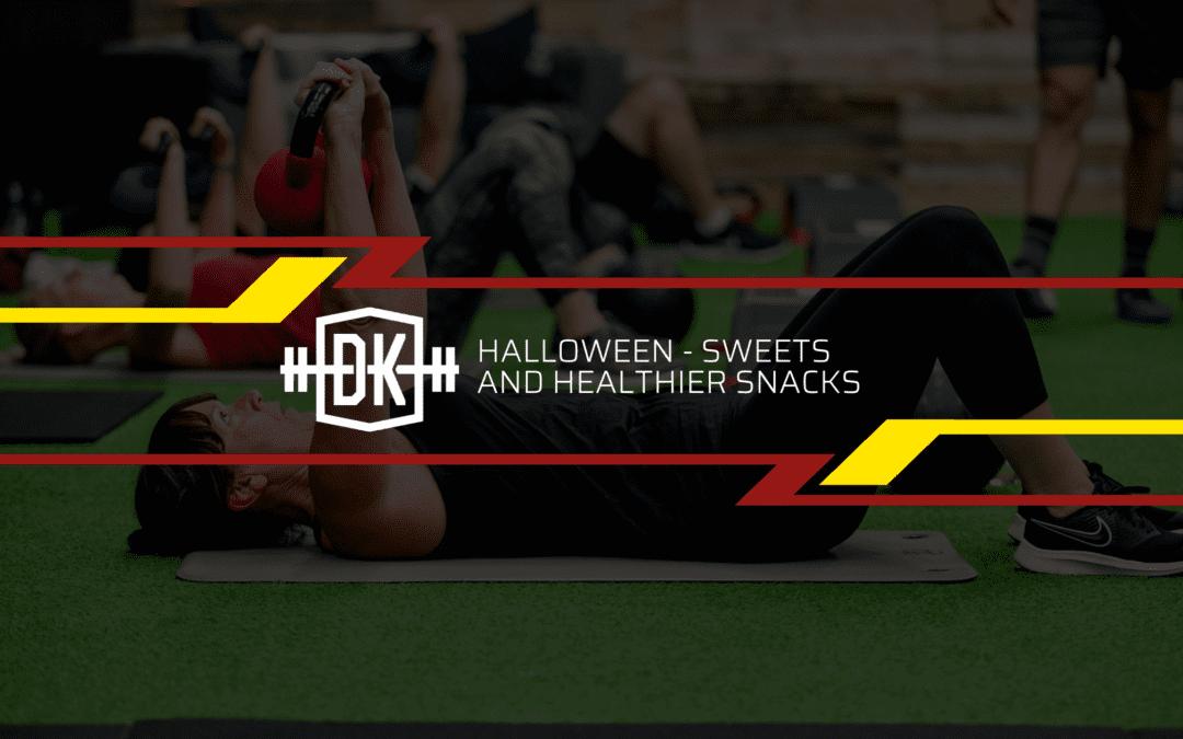 Halloween – Sweets and healthier snacks
