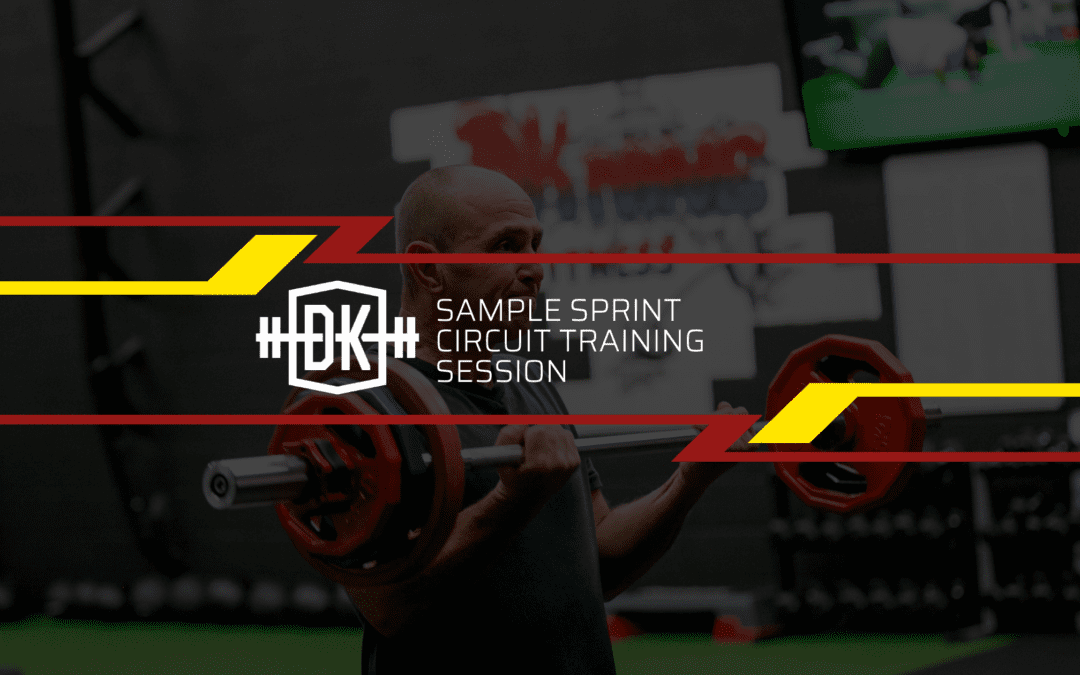 Sample Sprint Circuit Training Session