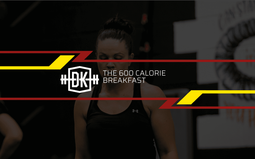 The 600 calorie breakfast